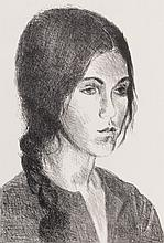 RAPHAEL SOYER (1899-1987) PENCIL SIGNED LITHOGRAPH