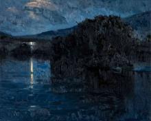 TAYLOR LYNDE (BORN 1970) OIL ON CANVAS