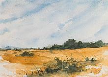 LOUIS COPT(KANSAS B. 1949) WATERCOLOR ON PAPER