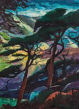 WALTER BAILEY (1894-1989) OIL ON ARTIST'S BOARD