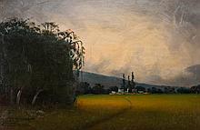 JAMES EVERETT STUART (1852-1941) OIL ON MASONITE