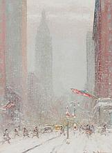 JOHANN BERTHELSEN (1883-1972) OIL ON ARTIST'S BOARD