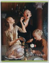 JOHN CURRIN ART BOOK, FIRST ED. IN PICTORIAL BOX
