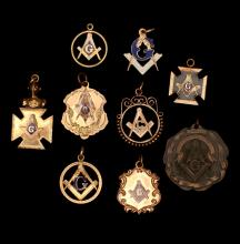 Masonic Fraternal Organization for Sale at Online Auction