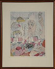 ELIZABETH 'GRANDMA' LAYTON (1909-1993) OFFSET