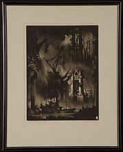 REYNOLD HENRY WEIDENAAR (1915-1985) PENCIL SIGNED