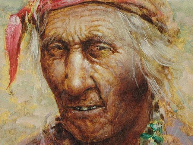 RAMON RICE (1928 - 1985) OIL ON MASONITE
