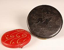 MARCEE & REX FIFTH AVENUE LEATHER COMPACTS