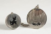 STERLING AND .800 SILVER COMPACTS