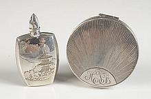 STERLING COMPACT & STERLING PERFUME