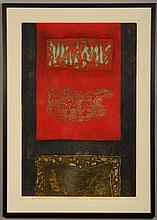 HIROYUKI TAJIMA (1911 - 1984) PENCIL SIGNED WOODBLOCK PRINT