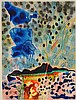 KEITH CROWN (1918-2010) ABSTRACT WATERCOLOR, TAOS NM, Keith Allen Jr Crown, Click for value
