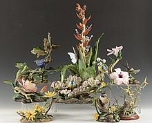 GROUPING OF VARIOUS BOEHM PORCELAIN BIRD FIGURES