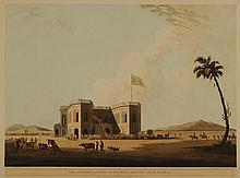 C. 1800 HAND COLORED AQUATINTS, BRITISH COLONIAL INDIA