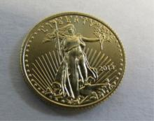 2013 US 5 DOLLAR GOLD COIN UNCIRCULATED