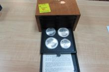 1976 CANADA OLYMPIC 21 MONTREAL SET  28 COINS