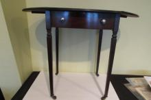 Sheridan Drop Leaf Work Table Antique