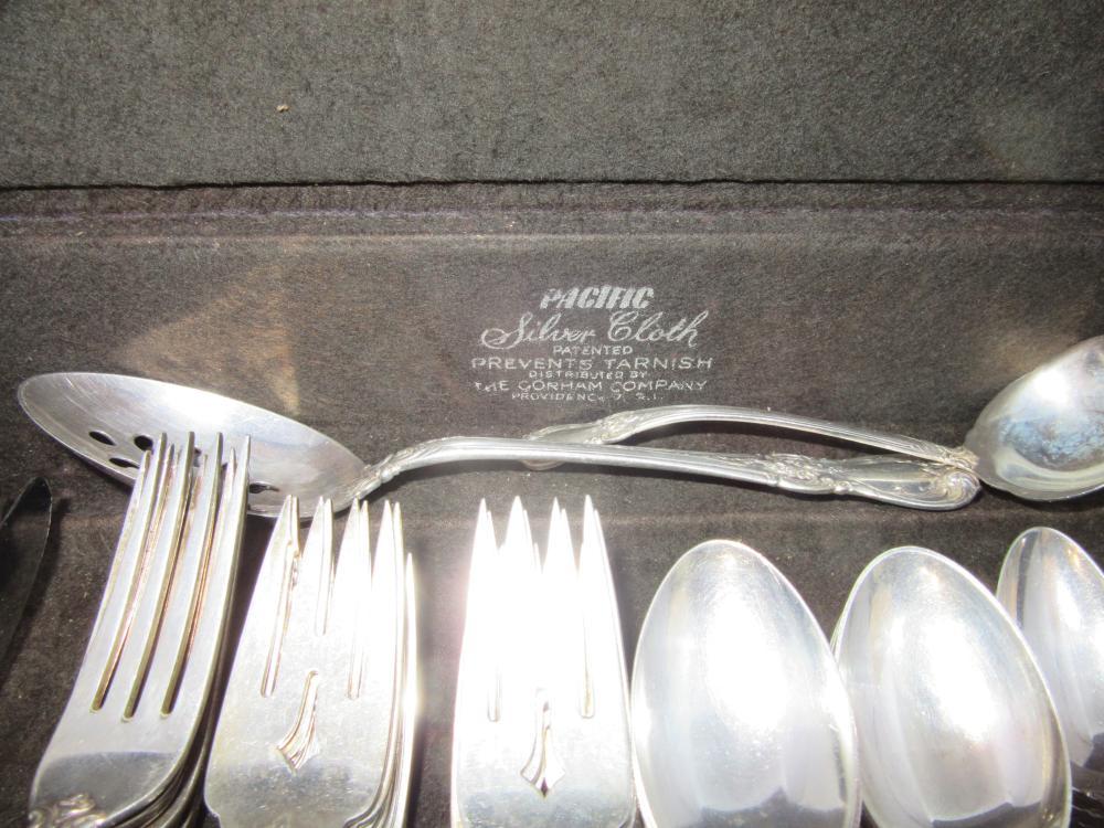 Sterling Silver Flatware Towle Mandarin Regular Fork