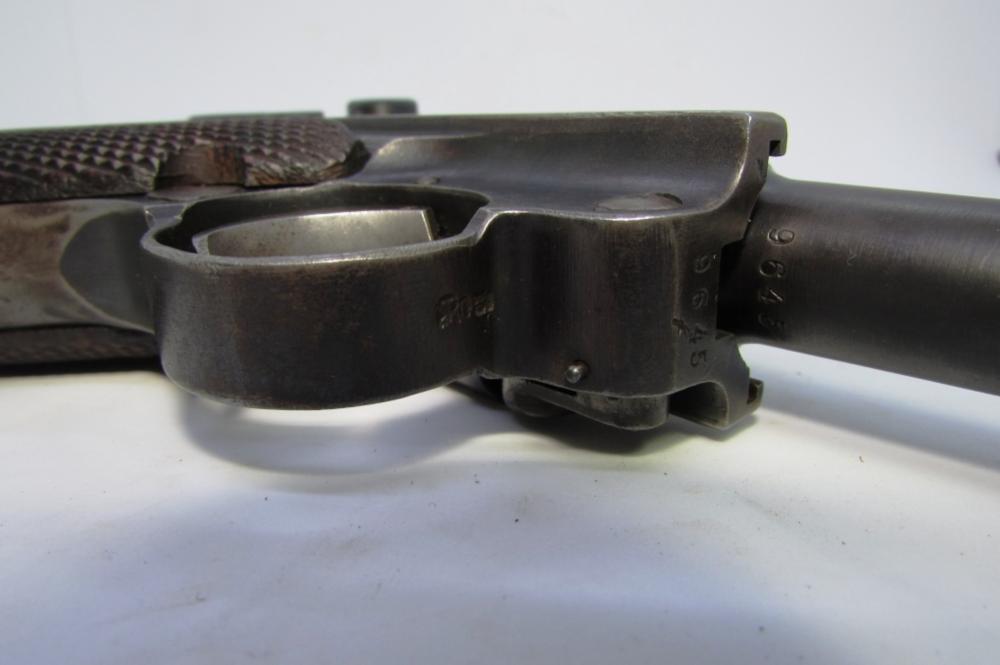 1917 GERMAN ERFURT LUGER 9mm PISTOL HANDGUN P08
