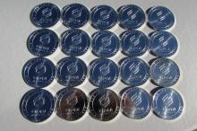 20 SILVER 1 OZ ROUNDS OPM MINT ROLL OF 20