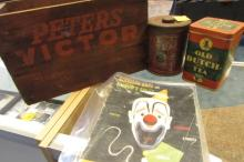 Peters Victor Ammo Crate Box, 2 Tins, Ringling Mag