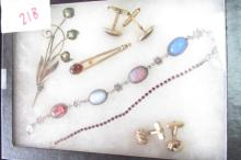 Assorted Vintage Gold Filled & Silver Jewelry