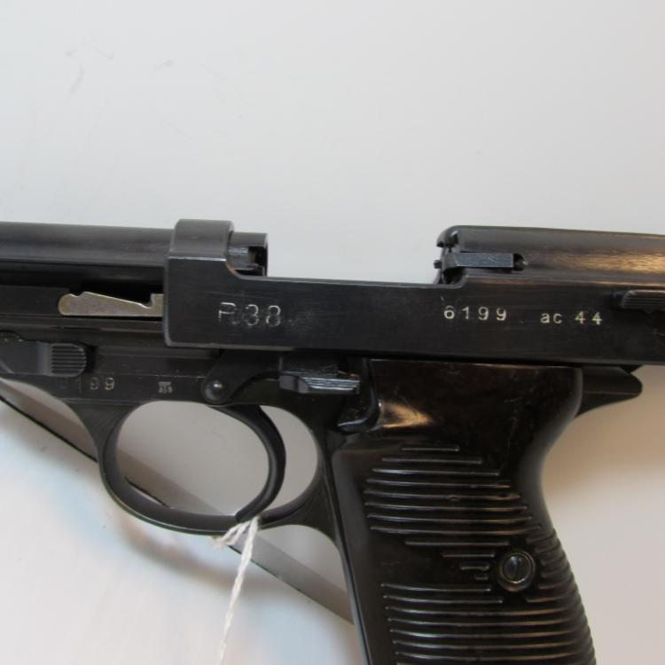 P 38 WALTHER 9mm PISTOL NAZI PROOF MARKS