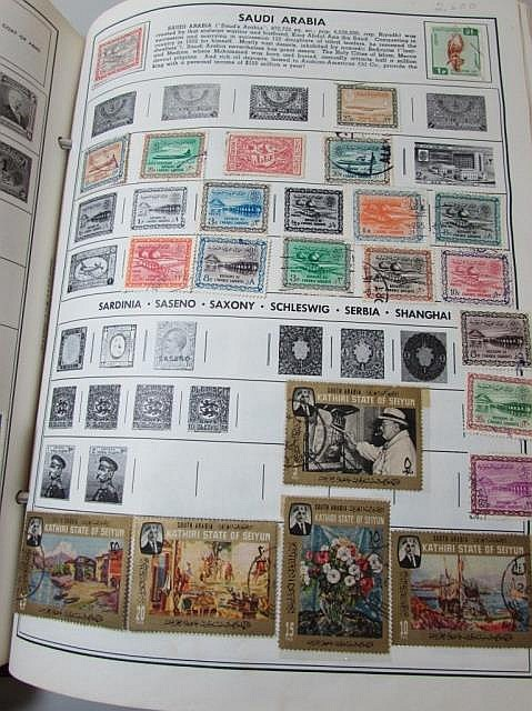 3900 WORLD STAMP COLLECTION BOOK ALBUM LOT