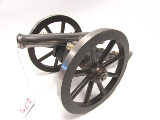 50 CALIBER CANNON BLACK POWDER NAPOLEON III NICKEL