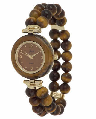 TIGER EYE GEMSTONE WATCH QUARTZ ARIA BRACELET