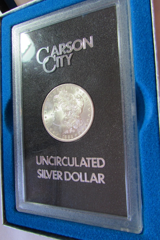 1882 CARSON CITY GSA SILVER DOLLAR CC MORGAN UNC