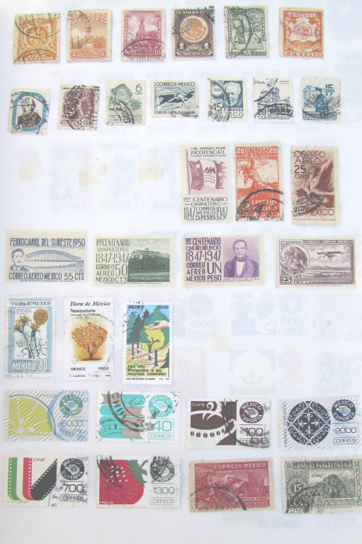 WORLDWIDE STAMP ALBUM COLLECTION POSTAGE BOOK
