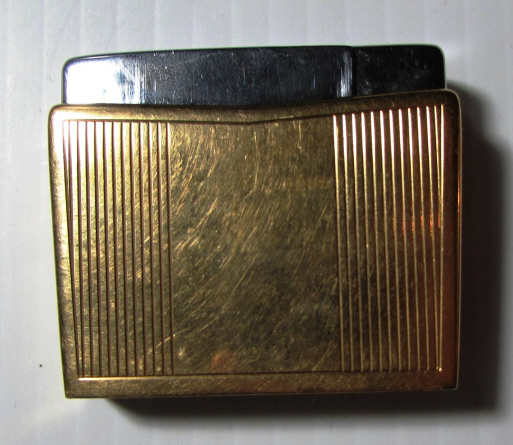 GEORG JENSEN 18k GOLD LIGHTER SIGVARD BERNADOTTE