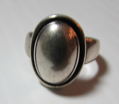 GEORG JENSEN STERLING SILVER RING #46
