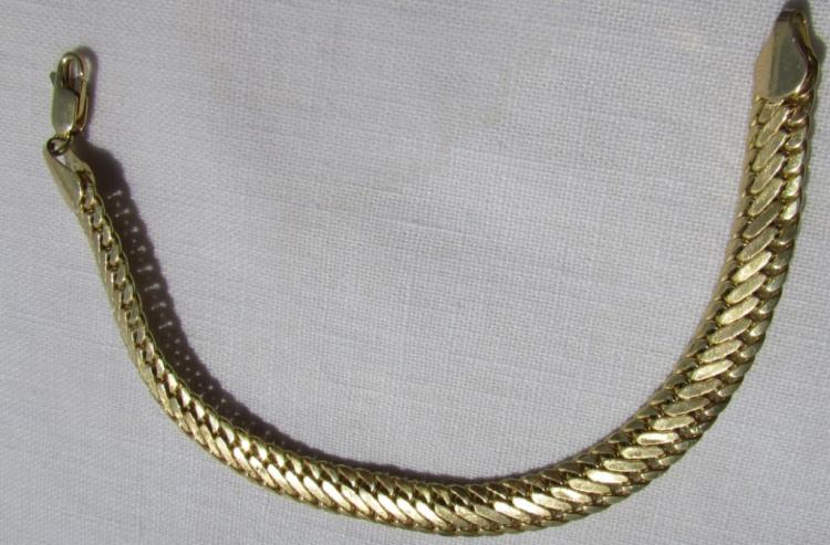 14K GOLD BRACELET 5.7 GRAMS