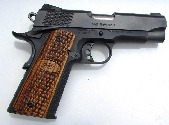 KIMBER PRO RAPTOR II .45 ACP HANDGUN PISTOL 1911