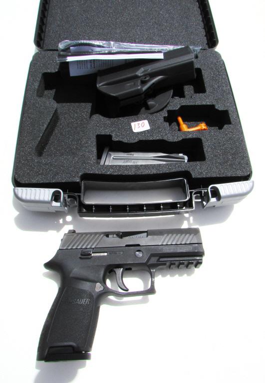 SIG SAUER P320 9mm HANDGUN PISTOL