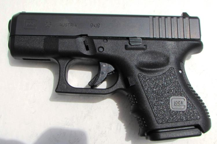 GLOCK 26 9mm PISTOL HANDGUN