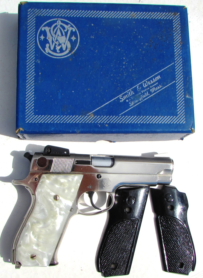 SMITH & WESSON 539 9mm PISTOL PEARL IN BOX