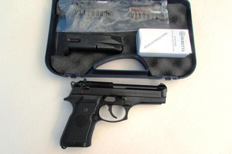 BERETTA 92FS COMPACT L 9mm M9 PISTOL IN BOX