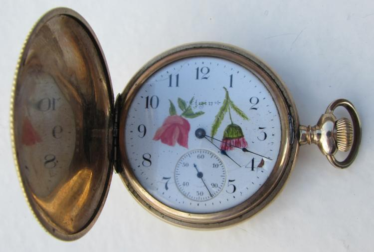 ELGIN HUNTING CASE 18 SIZE POCKETWATCH
