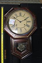 Antique Regulator Clock 22