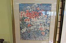 Watercolor Print Childe Hassam Island Garden