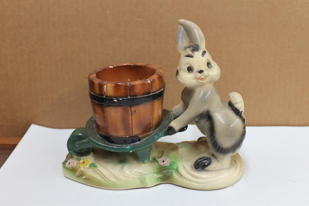 Rabbit Shoving Cart