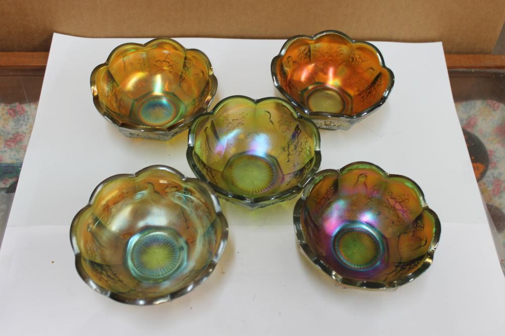 5 Northwood Berry Bowls