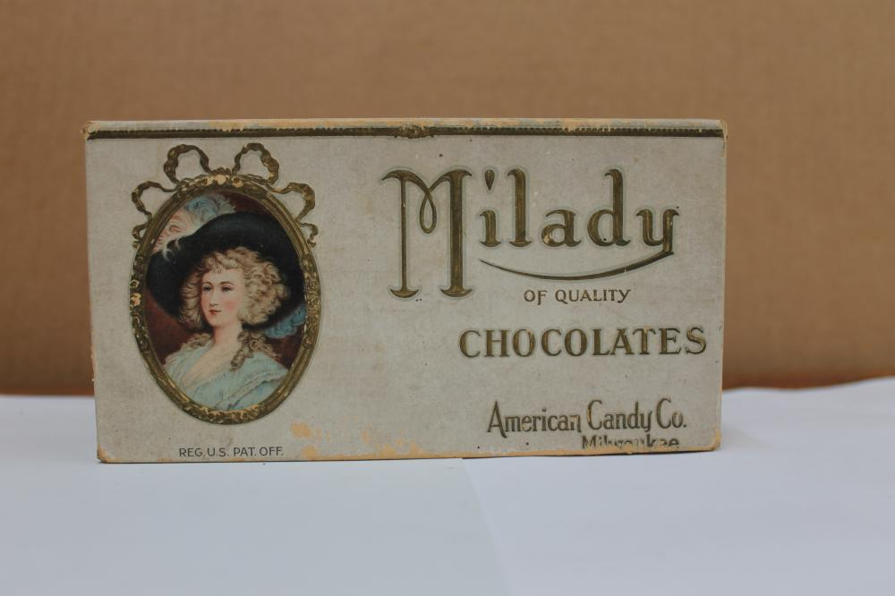 Milady of Quality Chocolates Box