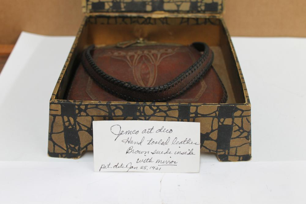 Leather Purse In Box