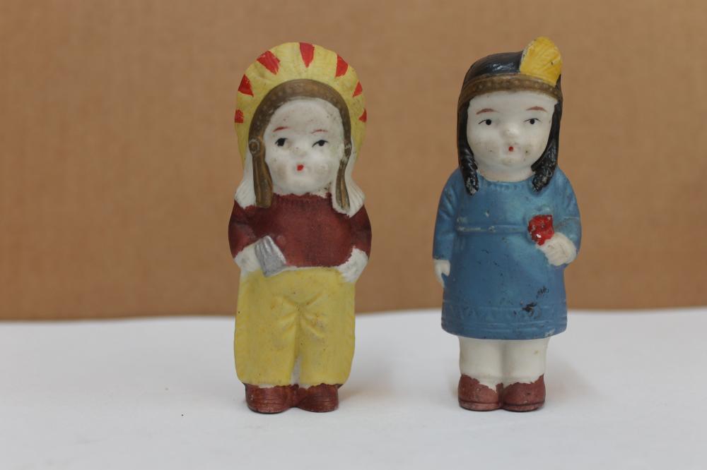 2 Ceramic Indians