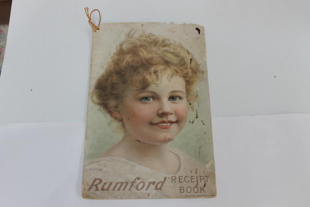 Rumford Receipt Book