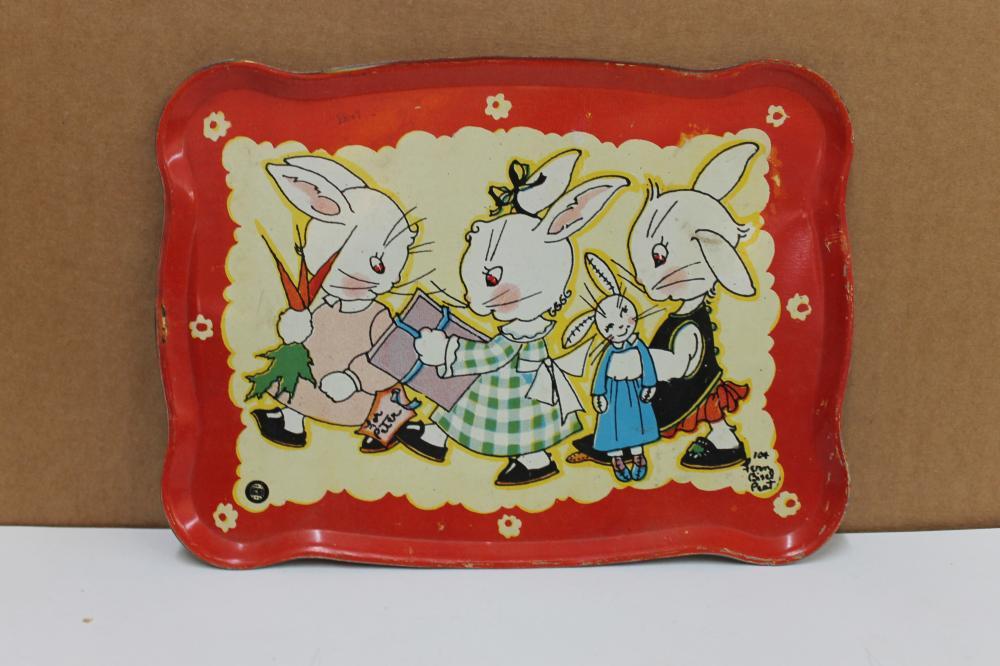 8 Piece Rabbit Tea Set